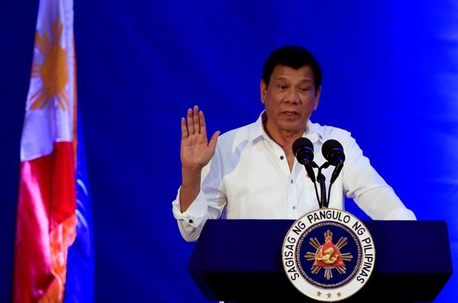 Duterte doa rut khoi toa hinh su quoc te anh 1