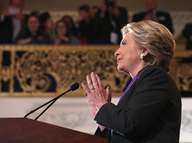 Clinton thang 2 trieu phieu pho thong anh 1