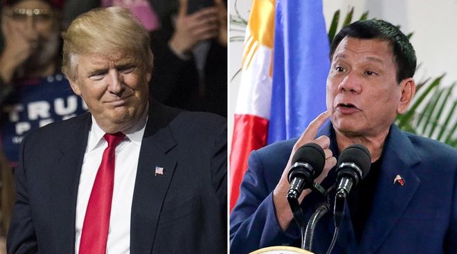 Trump ung ho cuoc chien chong ma tuy cua Duterte hinh anh 1