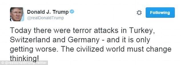 Trump: 'Khung bo Hoi giao tiep tuc tan sat nguoi dan' hinh anh 1