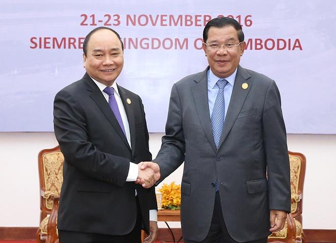Thu tuong Campuchia sap tham chinh thuc Viet Nam hinh anh 1