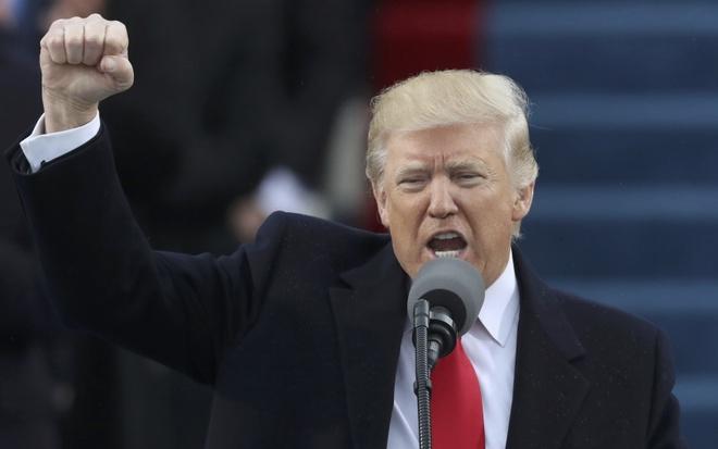 Toan van phat bieu nham chuc day cam xuc cua Donald Trump hinh anh