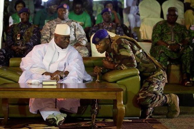 Tong thong 'ty nam' cua Gambia mang sieu xe di luu vong hinh anh 2