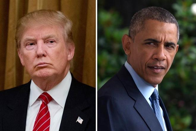Pha vo im lang, Obama chi trich Trump ve lenh cam nhap cu hinh anh