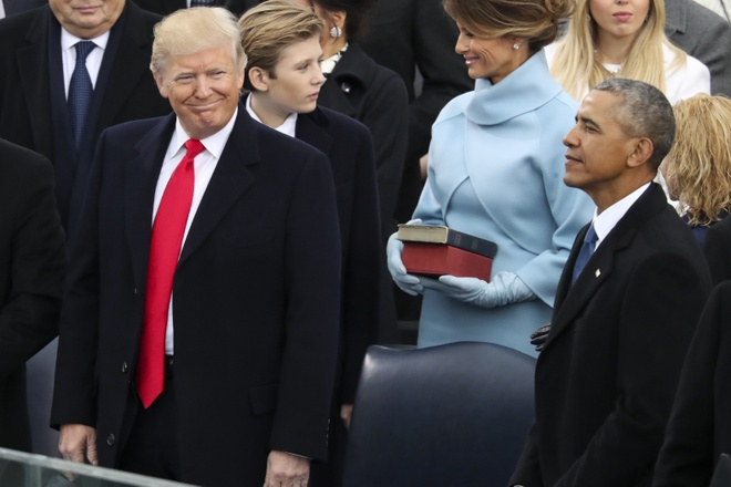 Obama chi trich Trump anh 1