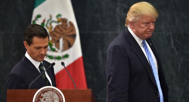 Goi NAFTA la 'tai uong', Trump muon day nhanh tai dam phan hinh anh 1