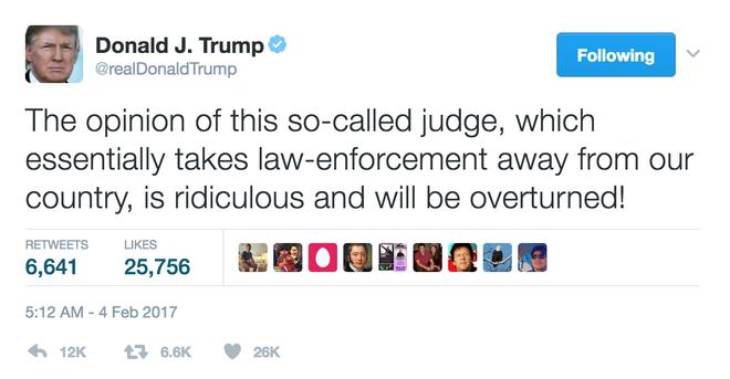 TT Trump the phuc hoi sac lenh bi tham phan chan dung hinh anh 1