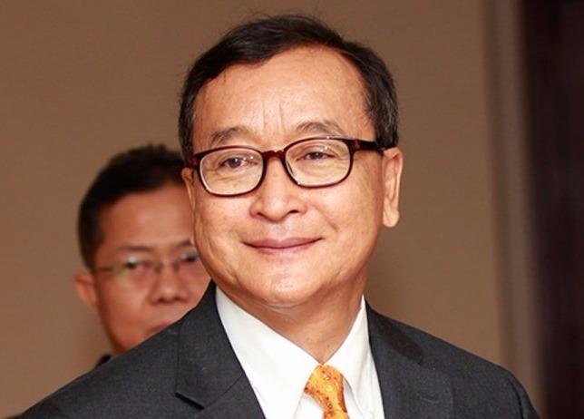Sam Rainsy tu chuc lanh dao dang doi lap o Campuchia hinh anh