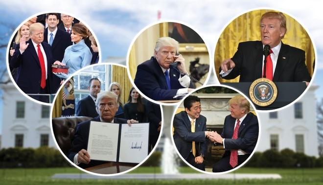 Thang trang mat song gio cua Tong thong Trump tai Nha Trang hinh anh