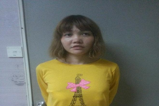 Doan Thi Huong co the bi truy to toi muu sat vu Kim Jong Nam hinh anh 1