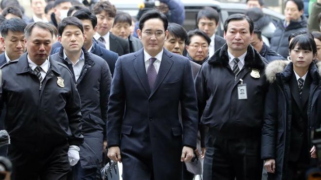 'Thai tu Samsung' co the co loi khi tong thong Han bi phe truat hinh anh 1