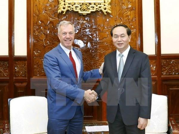 Tong thong Trump gui thu cho Chu tich nuoc de nghi thuc day hop tac hinh anh