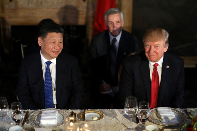Tan cong Syria: Trump gui thong diep den Trieu Tien, Bac Kinh hinh anh 1
