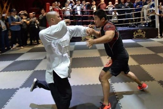 Hang loat cao thu vo lam Trung Quoc tuyen chien voi vo su MMA hinh anh