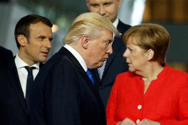 Lanh dao G7 lo lang truoc hoi nghi cung ong Trump hinh anh 1
