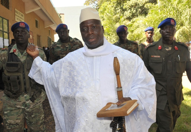 Gambia truy lung tai san khong lo cua cuu 'tong thong ty nam' hinh anh