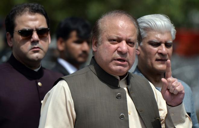 Thu tuong Pakistan bi phe truat lan thu ba hinh anh 1
