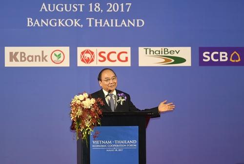 Thu tuong mong DN Thai, Viet cung hanh dong de thanh cong hinh anh