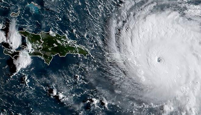 Sieu bao Irma tan cong Caribe, thiet bi quan trac gay do hinh anh 1