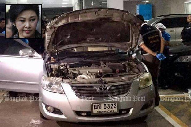 Ven man cach ba Yingluck qua mat an ninh de bo tron hinh anh