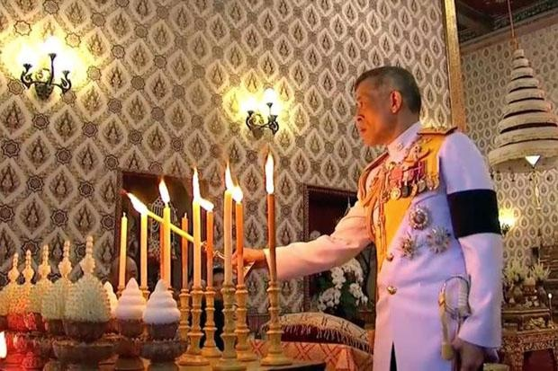 Thai Lan buoc vao ngay cuoi le hoa than Vua Bhumibol hinh anh