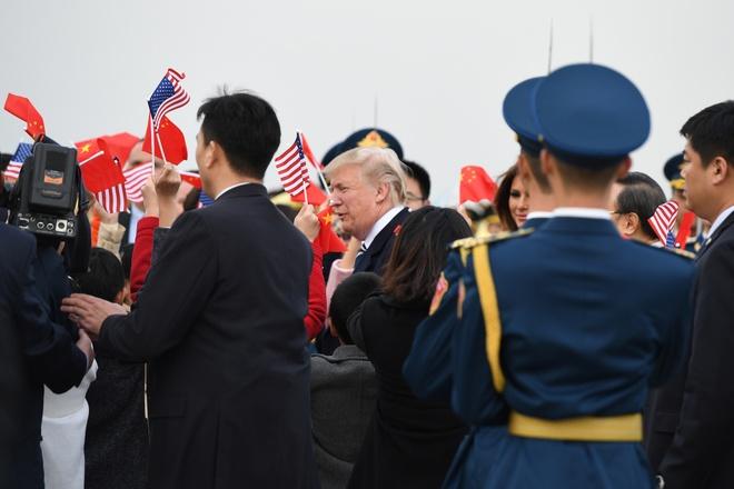 TT Trump den Bac Kinh, bat dau tham chinh thuc Trung Quoc hinh anh 8