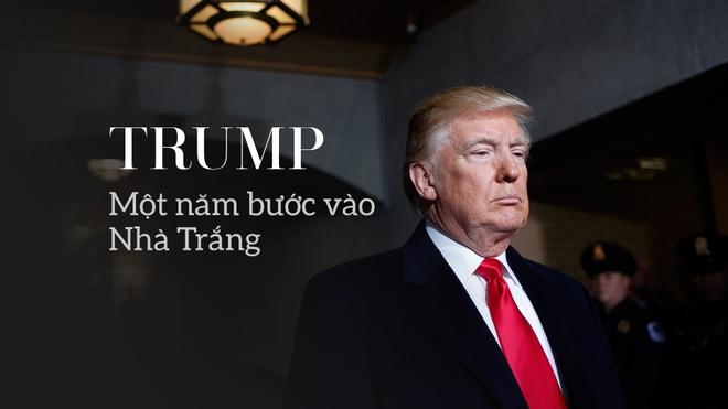 Mot nam vi 'Nuoc My tren het', ong Trump da lam nhung gi? hinh anh