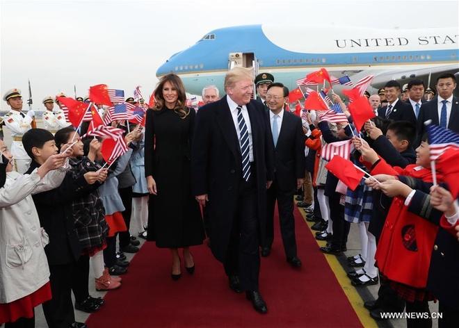 TT Trump den Bac Kinh, bat dau tham chinh thuc Trung Quoc hinh anh 7