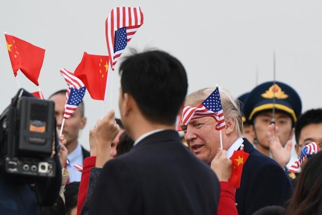 TT Trump den Bac Kinh, bat dau tham chinh thuc Trung Quoc hinh anh 5
