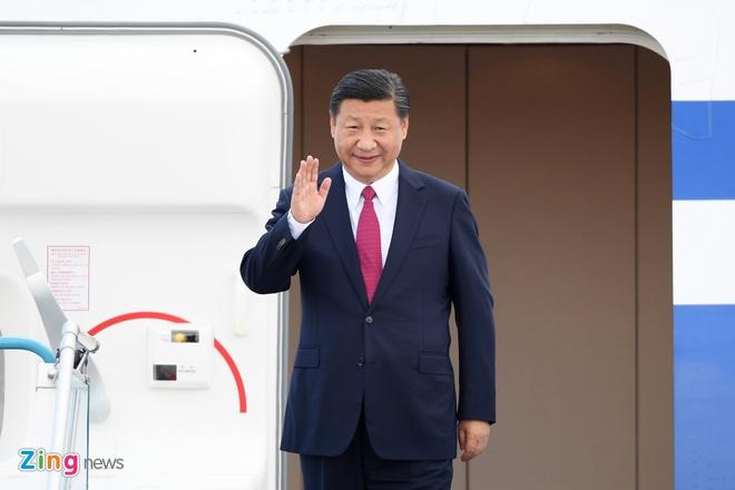 Chu tich Tap Can Binh phat bieu tai Hoi nghi CEO APEC hinh anh