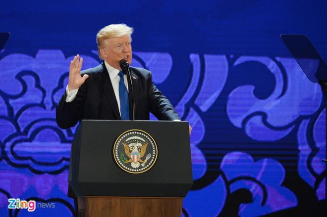 10 dấu ấn trong phát biểu của TT Trump tại Đà Nẵng