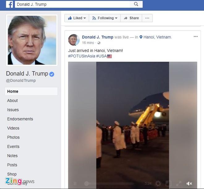 Trump tham Viet Nam anh 49