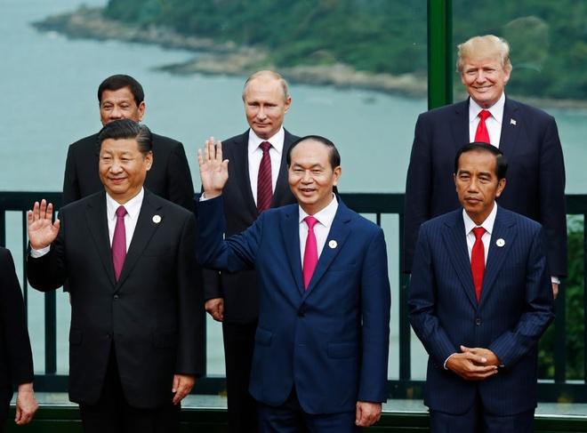 Chu tich nuoc gui thu bieu duong Da Nang to chuc thanh cong APEC hinh anh
