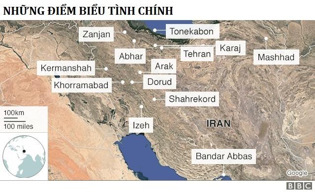 10 nguoi chet trong bieu tinh xuyen dem giao thua o Iran hinh anh 2