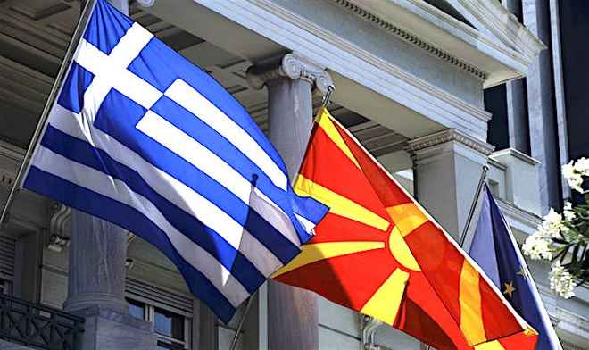 Hy Lap, Macedonia lai dua nhau ra LHQ vi tranh cai ten nuoc hinh anh