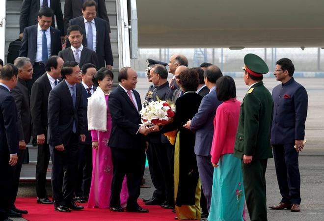 Thu tuong Nguyen Xuan Phuc den An Do hinh anh 1