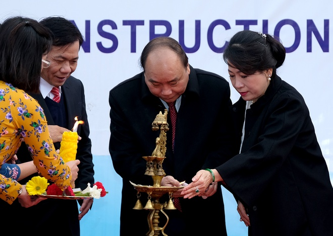 Thu tuong du le dong tho tru so moi DSQ Viet Nam tai An Do hinh anh