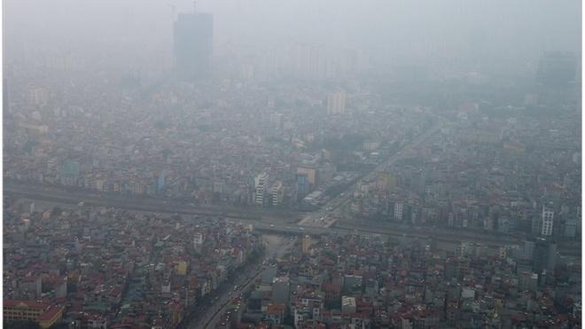 Kết quả hình ảnh cho ô nhiễm hà nội