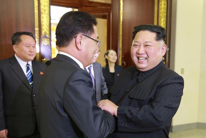 Loi ke cua quan chuc Han Quoc ve bua toi cung Kim Jong Un hinh anh