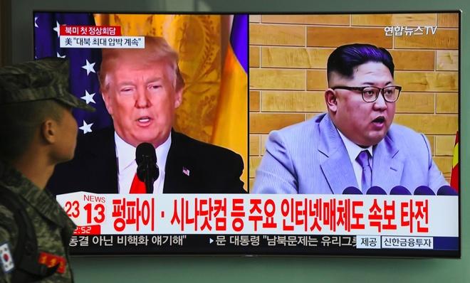 Trump gap Kim Jong Un: My lieu linh voi chiec bay cua Trieu Tien? hinh anh