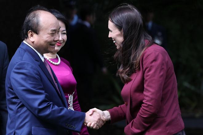 Viet Nam - New Zealand ra tuyen bo chung, huong toi doi tac chien luoc hinh anh