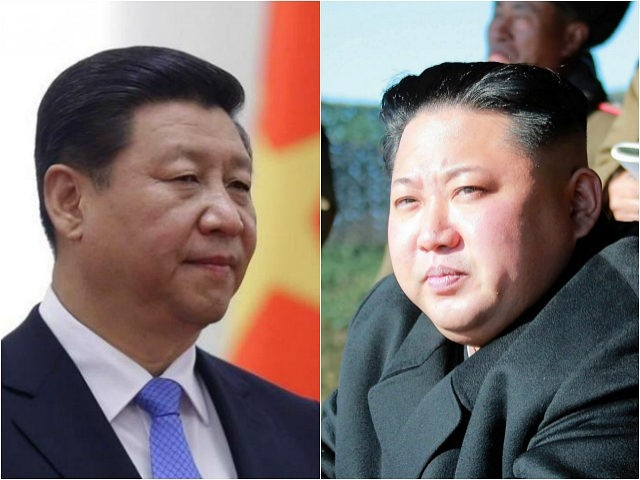 Ong Kim Jong Un chuc mung ong Tap Can Binh tai dac cu chu tich TQ hinh anh 1