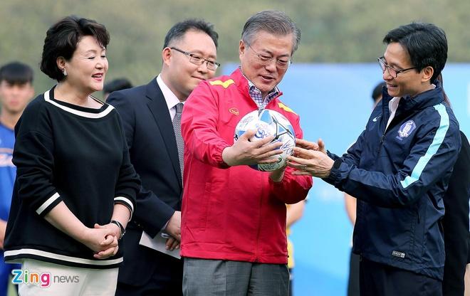 Tong thong Han Quoc: 'Neu khong bao tuyet, U23 Viet Nam da vo dich' hinh anh