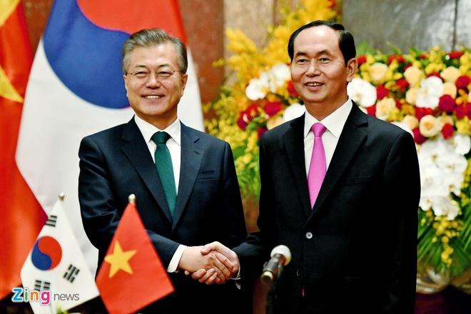Tong thong Moon: Viet, Han la nhung nguoi ban dac biet hinh anh