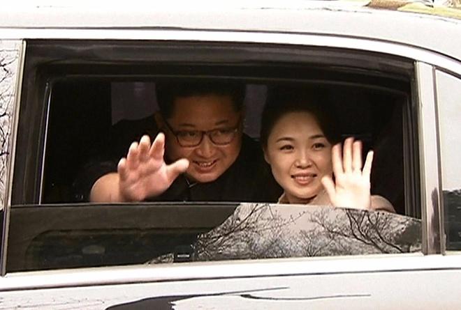 Kim Jong Un va chuyen tham bi an toi Bac Kinh hinh anh