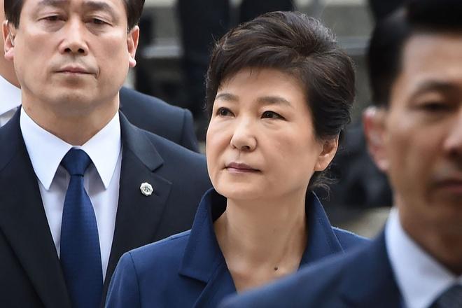 Cuu tong thong Park Geun Hye bi tuyen 24 nam tu hinh anh 1