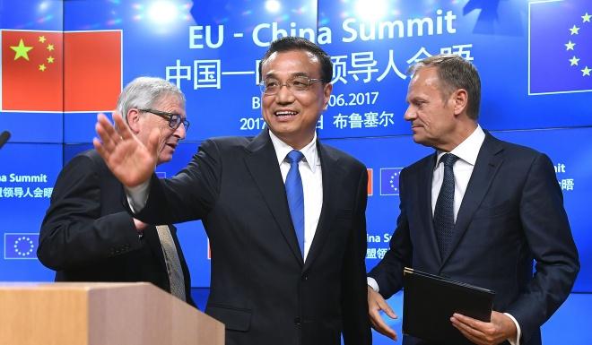 EU chi trich ' Vanh dai va Con duong' cua TQ la khong cong bang hinh anh 1