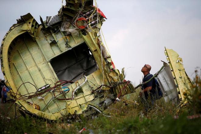 Dieu tra vien quoc te: Ten lua ban roi MH17 den tu lu doan Nga hinh anh