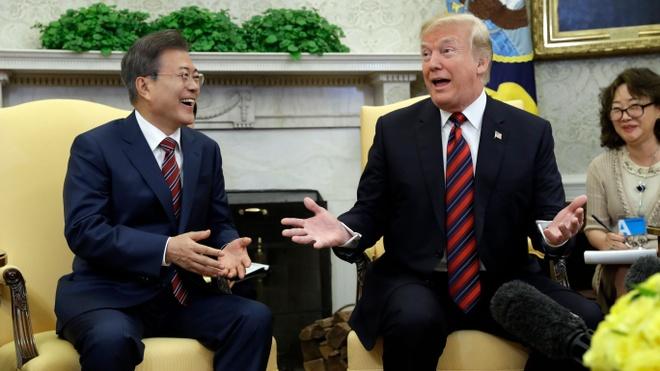 LHQ go lenh cam di lai voi quan chuc Trieu Tien du cuoc gap Trump hinh anh 2