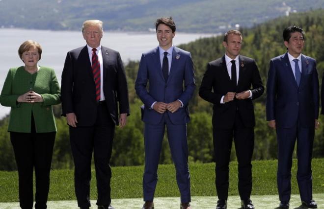 Tuyen bo chung G7 noi gi khien ong Trump bat ngo 'xe bo'? hinh anh 2